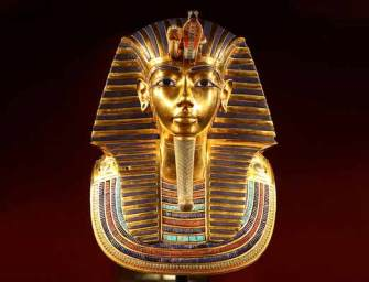 Földön kívüli fémből készült Tutanhamon tőre