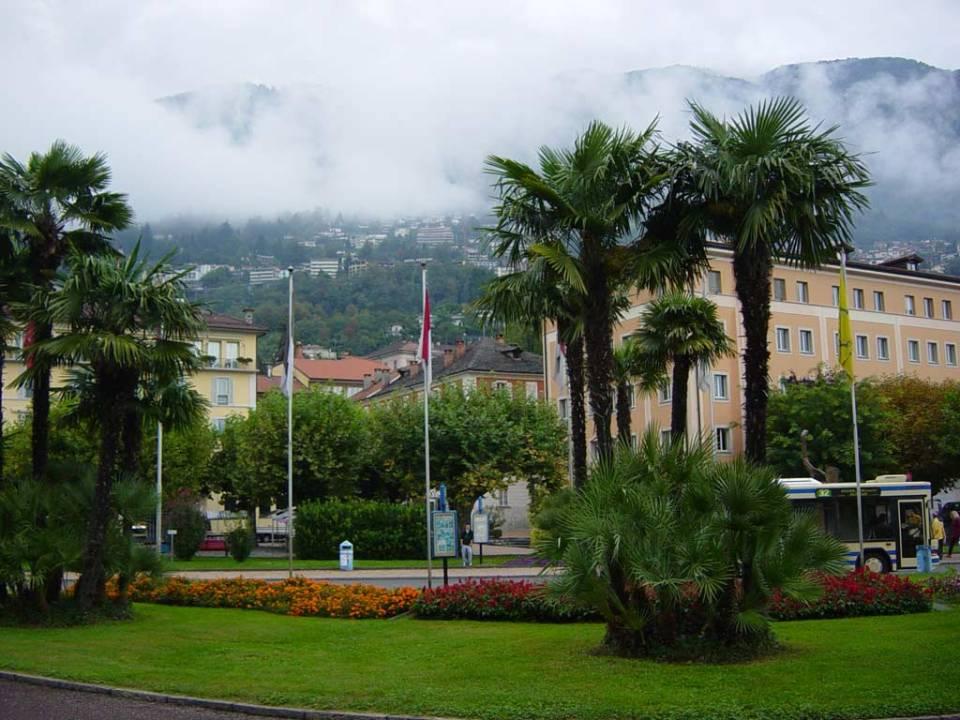 Locarno eső után. Fotó: Podmaniczky Szilárd