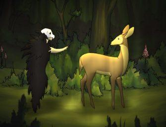 Rejtélyesen szép animáció a Halálról