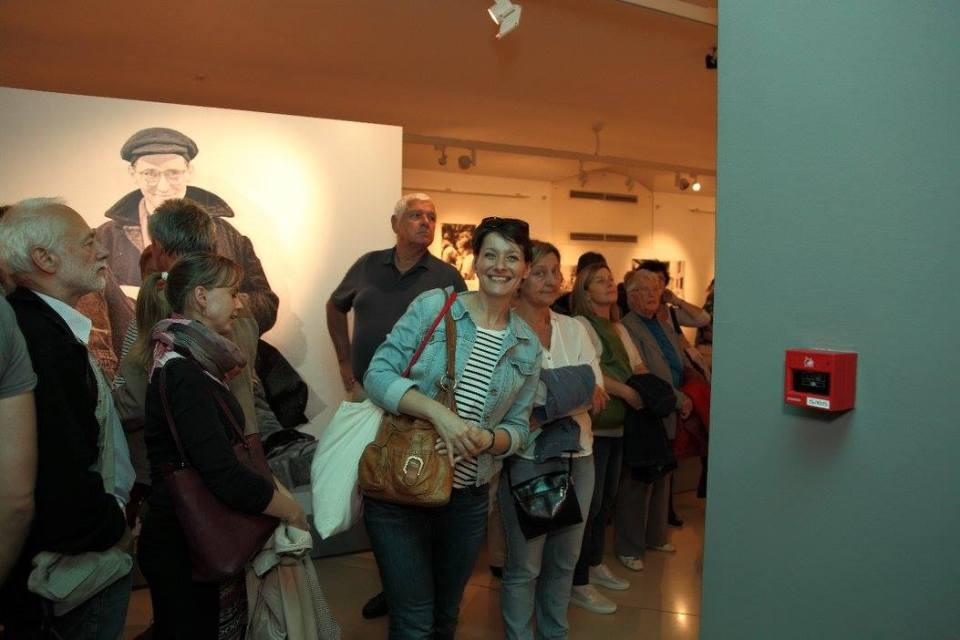 A közönség öröme. Fotó: Magyar Nemzeti Galéria.