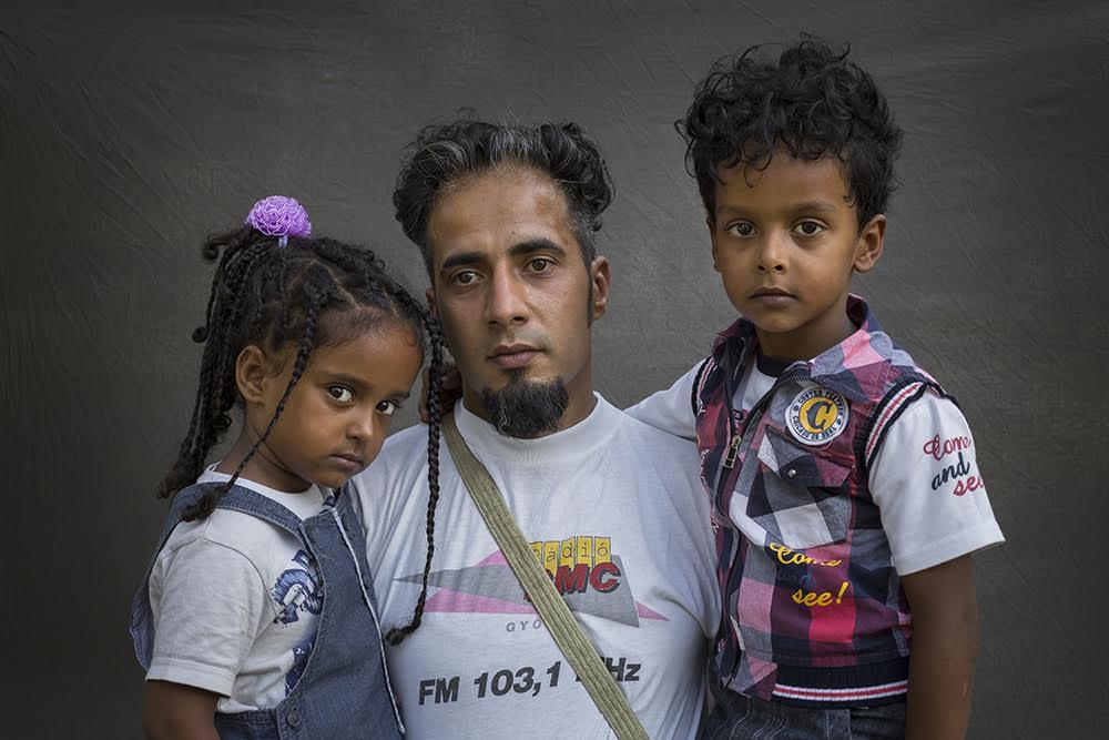 Déri Miklós: Gepsz Szava(3), Mahmud(31), Mohamed (5) Szíriából, 2015