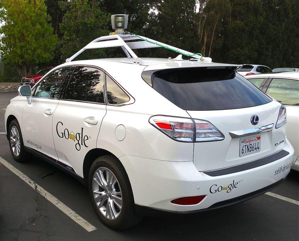 A Google egyik önvezető autója CC Steve Jurvetson