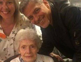 Mindenki arcára mosolyt varázsolt George Clooney