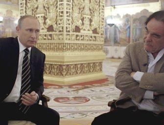 Oliver Stone emberi arcot kölcsönzött Putyinnak