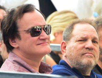 Tarantino barátnőjétől tudott a nőket zaklató Weinstein ügyeiről