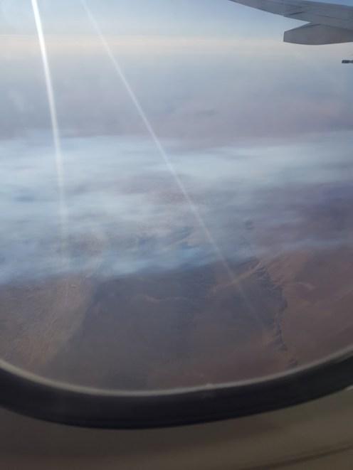 A Góbi sivatag fölött