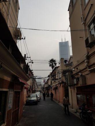 Reggeli pára Sanghajban