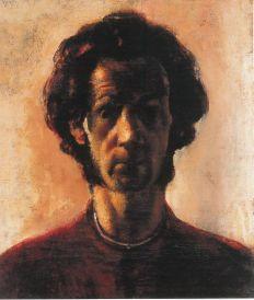 Önarckép pofaszakállal, 1925