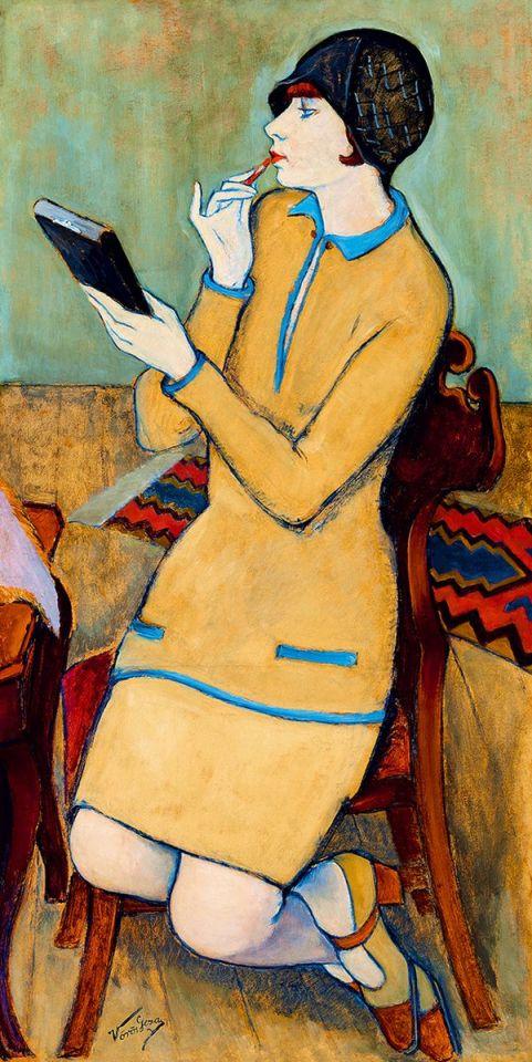 Vörös Géza Szájfestés, 1931 körül