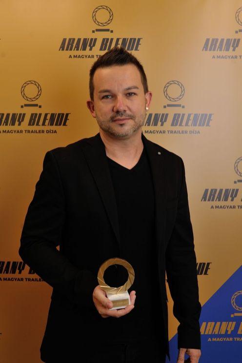 Arany Blende díjátadó 2020 Bedő Barna. Fotó: Czirják Pál