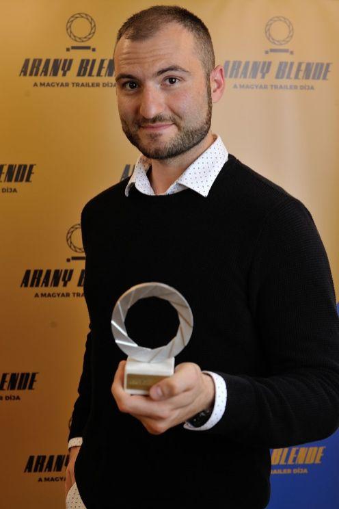 Arany Blende díjátadó 2020 Duszka Péter Gábor, fotó: Czirják Pál