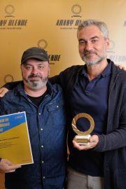 Arany Blende díjátadó 2020 Hargittai László és Szász Attila, fotó: Czirják Pál