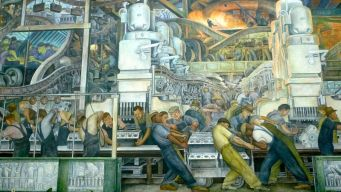 Diego Rivera Detroit Industry Mural 1932-33