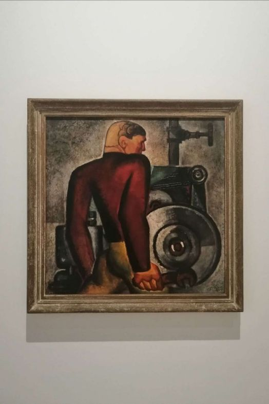 Gellért Hugó, Worker and Machine 1928