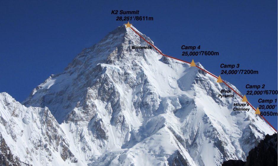 Először mászták meg télen a 8611 méter magas Vad Hegyet