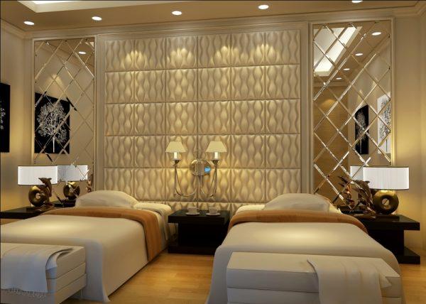 Faux Leather Ceiling Tile