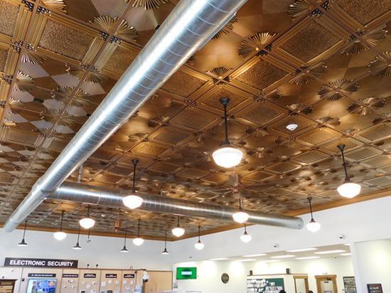 retail store ceiling tile ideas