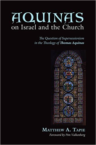 Book Cover: Aquinas on Israel and the Church