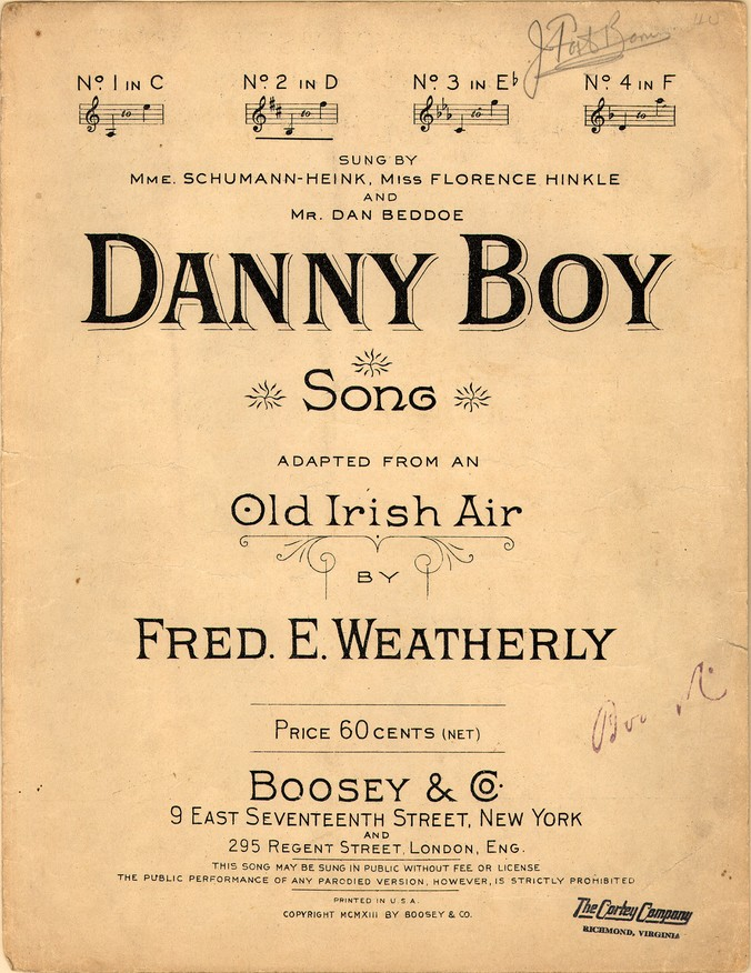 Image result for Oh Danny Boy