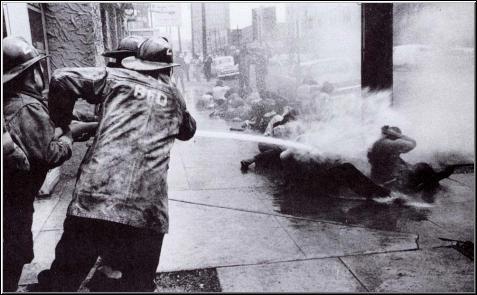 Firehosing Blacks in Birmingham, 1963