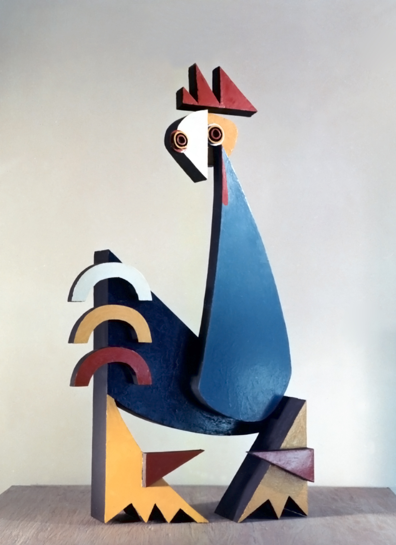 Rooster Bruno Groth Hsu Library