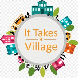 Image result for it takes a village clip art