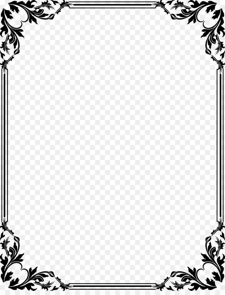wedding invitation borders clip art