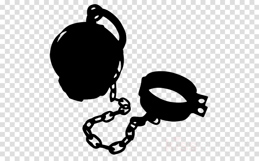 Download Ball And Chain Clipart Ball And Chain Prison