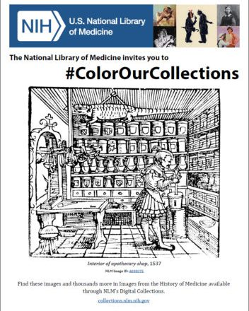 NLM Coloring Book Cover