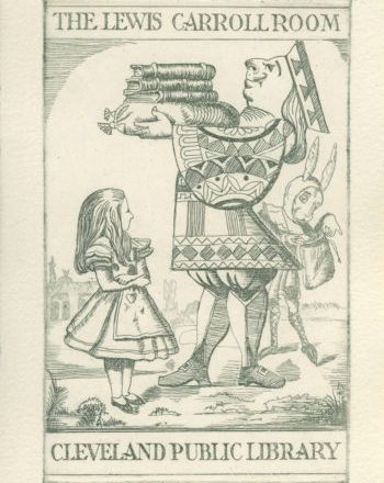 CPL_Bookplate_Lewis_Carroll_Room
