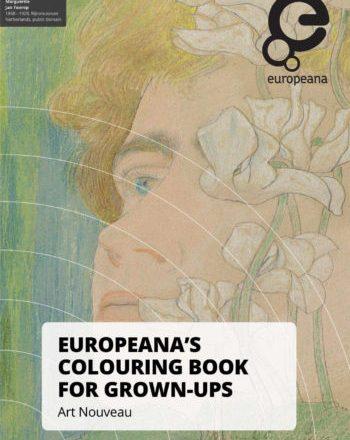 Europeana Art Nouveau Colouring Book cover