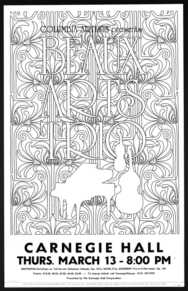Carnegie Hall Archives Coloring Book – #Color Our Collections