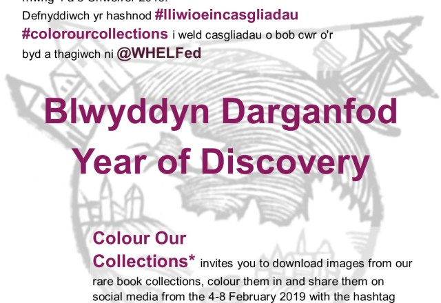 Wales Higher Education Libraries Forum – #Color Our Collections