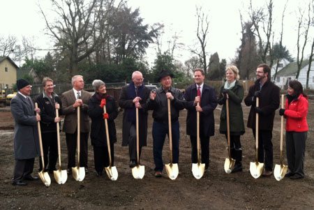 Rose groundbreaking