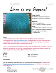 KNIT Lines To my Diagonal