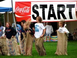 sack races start