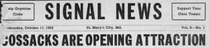 Signal News 1953
