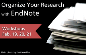 Organize Your Research with EndNote