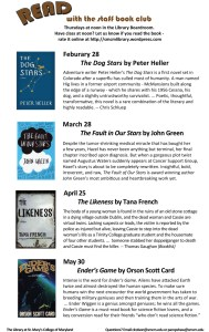 Staff Book Club SP 2013