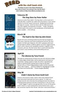 Staff Book Club SP 2013