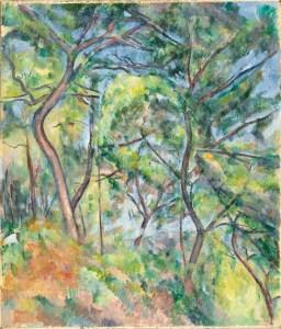 Sous-Bois by Paul Cezanne