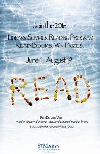 Summer Reading 2016 poster