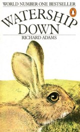 cover art for the book Watership Down