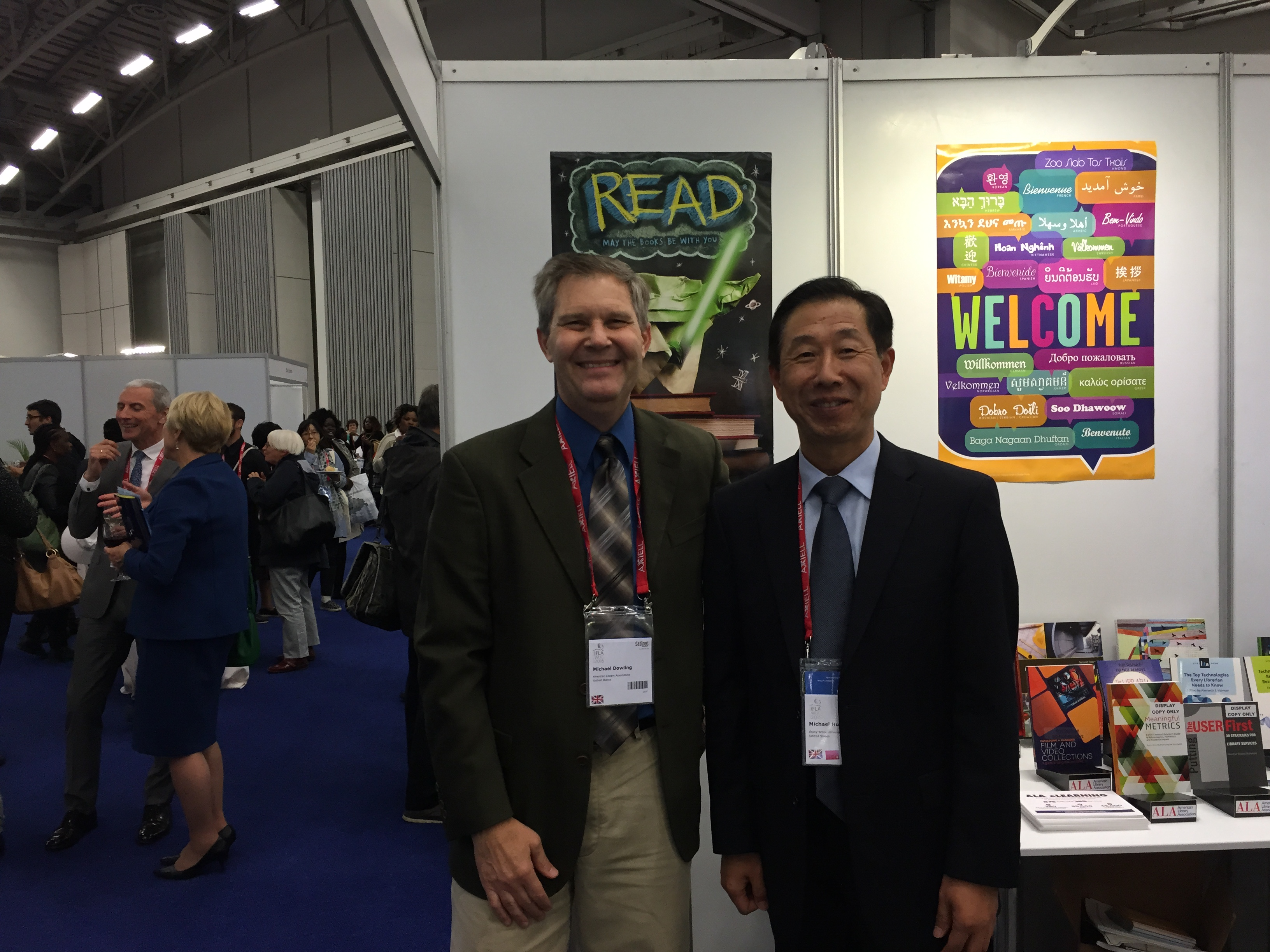 Michael Huang Attends The World Library And Information Congress