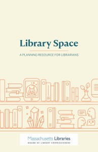 """Cover of """"Library Space"""" planning guide"""
