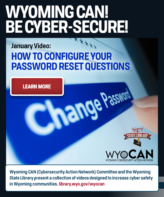 WyoCan banner ad for January's program