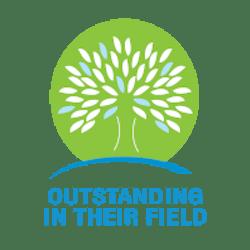 Outstanding in Their Field logo