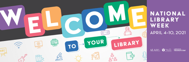 """""""Welcome to Your Library"""" banner"""