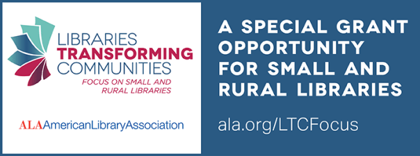 Libraries Transforming Communities banner graphic