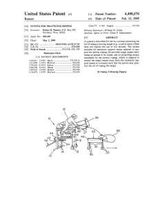 Patent schematics